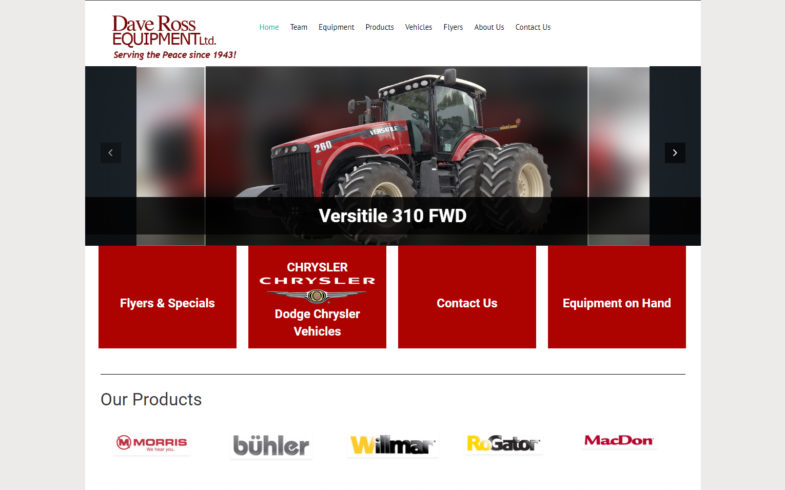 Dave Ross Equipment Ltd.